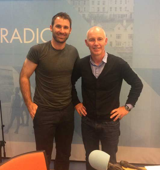 Radio interview of Bryan and Ray Darcy RTE