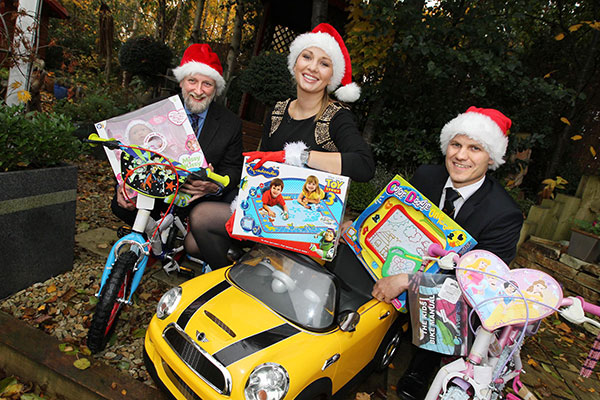Promoting Barnardos Christmas Toy Appeal on Ireland AM