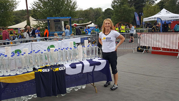 Organising the GLS Water Stations at a Triathlon Event