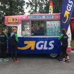 Thanks to GLS for providing ice cream for everyone at TriAthy to day   ...