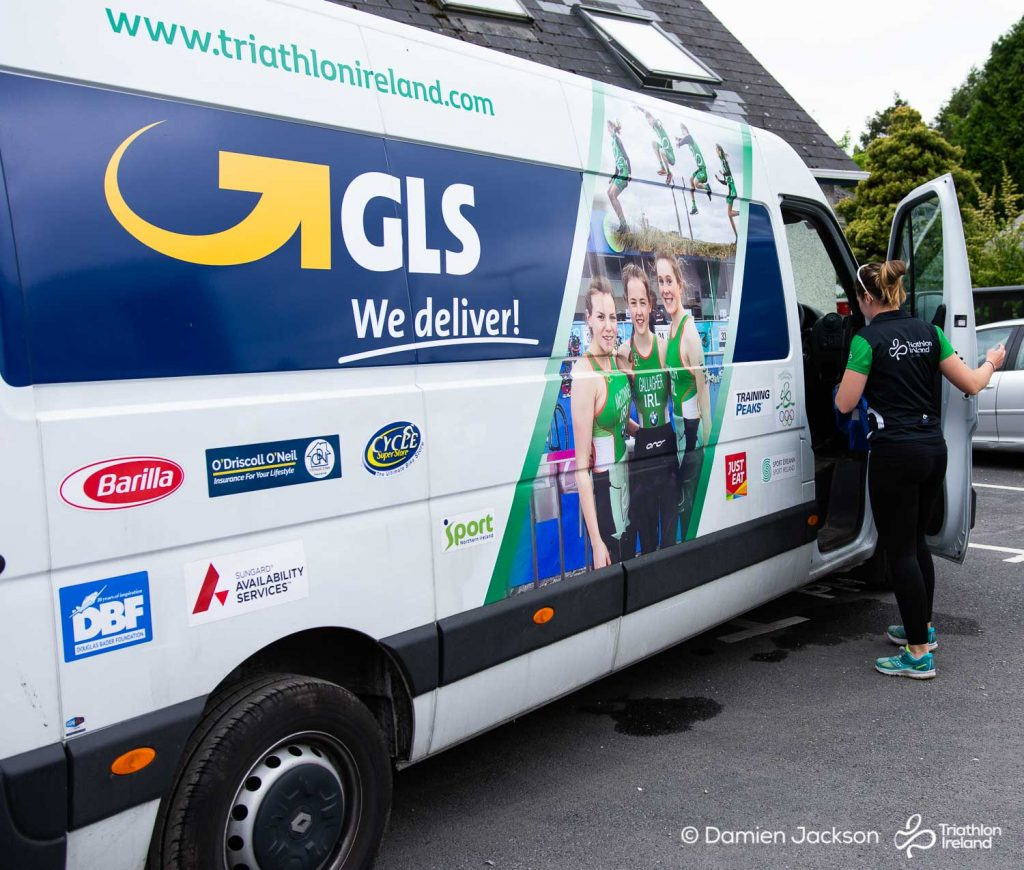 Thanks to GLS for providing ice cream for everyone at TriAthy to day